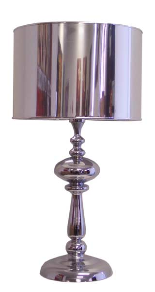 Table Lamp - Chrome & Acrylic