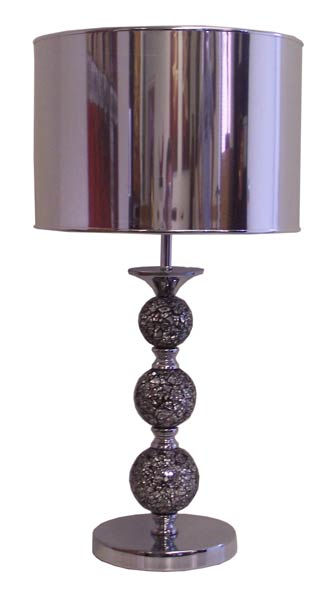 Table Lamp - Steel & Mosaic