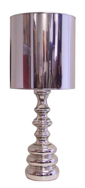 Table Lamp - Chrome, Glass & Acrylic