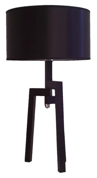 Table Lamp - Timber & Fabric