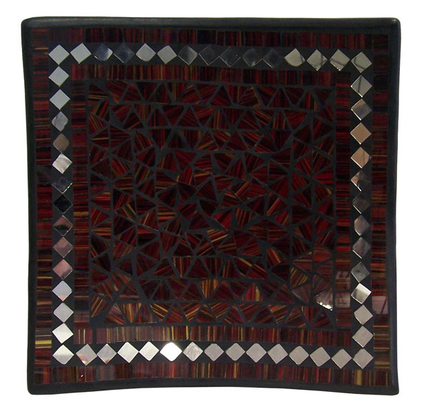 Square Mosaic Plate