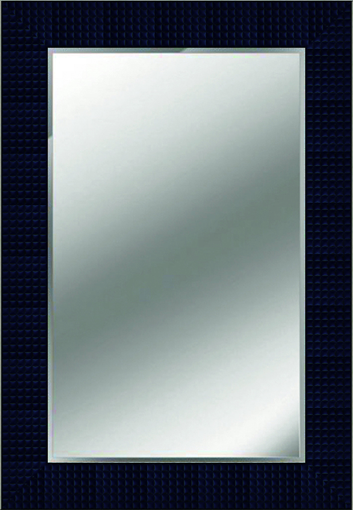 Feature Mirror in Dark Blue