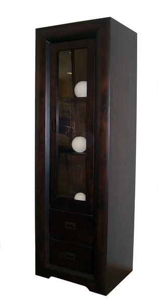 'Global' Single Door Display Cabinet