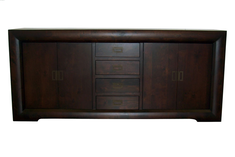 'Global' Four Door & Four Drawer Sideboard