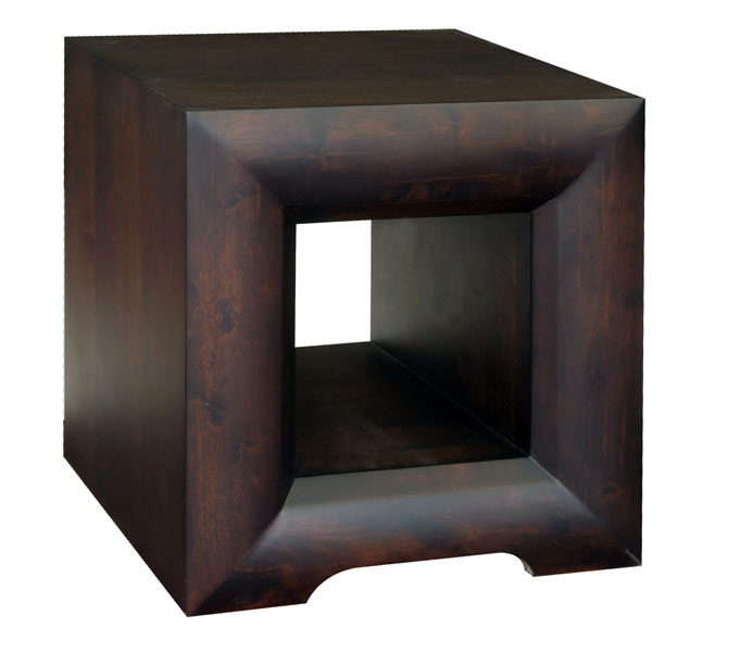 'Global' Cube Lamp Table